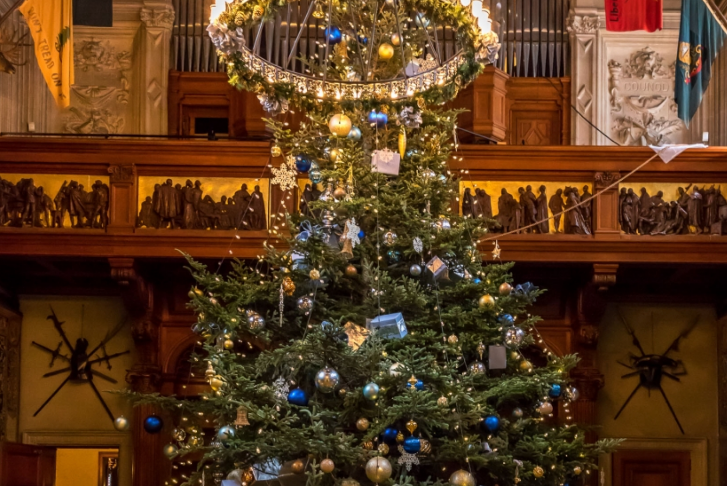 Christmas at Biltmore features more than 100 Christmas trees—each hand-decorated and styled. The Conservatory anchoring the Walled Garden is filled with ...